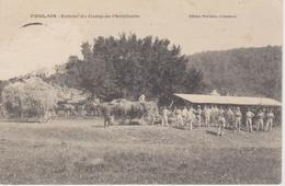 HAUTE MARNE -  FOULAIN - Entrée Du Camp De L'Artillerie ( - Belle Animation - écrite Sans Date ) - France