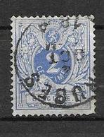 OBP27 Met Enkelcirkelstempel Bruges - 1869-1888 León Acostado