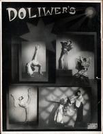 Grande Photo Originale Doliwer's Spielt-Singt-Tanzt, Majthényi Paul, Racz Irina Atistes 1930's Studio Adelin Bruxelles - Famous People