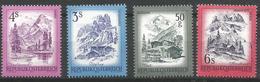 TP D'AUTRICHE N°  1259 + 1272 + 1303 + 1305  NEUFS SANS CHARNIERE - 1945-.... 2ème République