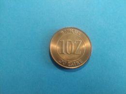 ZAIRE 10 MAKUTA 1988 - Zaire (1971-97)