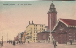 Blankenberghe , Blankenberge , Le Phare Sur La Digue , ( Kleur , Couleur ) - Blankenberge