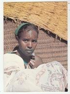 République De Djibouti - Jeune Femme Djiboutienne  - Format CPM - Djibouti
