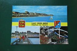 K 5 ) LUC SUR MER REF CARTE 107   OR 35  CAPITALE DU VARECH - Luc Sur Mer