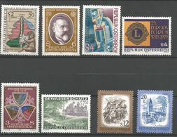 TP D'AUTRICHE N°  1436 A 1438 +1453 + 1439 /40 + 1478/79  NEUFS SANS CHARNIERE - 1945-.... 2ème République