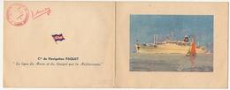 FRANCE - Compagnie PAQUET - Paquebot Lyautey - Invitation à La Mise En Service Le 12 Mars 1952 - Bateaux