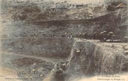 TONKIN VIETNAM Extraction à Ciel Ouvert Des Mines De HATON Des Charbonnages De HONGAY Carte Précurseur - Vietnam