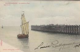 Blankenberghe , Blankenberge , La Rentrée Au Port ,( Ed.Albert Sugg  Série 5  N° 59 ; Kleur , Couleur ) - Blankenberge
