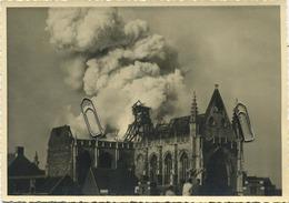 AALST : Sint-Martinus Kerk Door Brand Verwoest 1947 ( Originele  Foto 17 X 12 Cm ) Zie Scans ( Uitg. E.H. G. Pot - Lieux