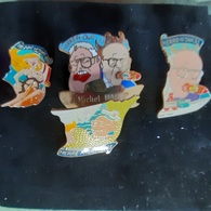 CARNAVAL . HERRE'N OWA 1993 MULHOUSE . 4 Pin's - Pin's