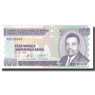 Billet, Burundi, 100 Francs, 1997-12-01, KM:37b, NEUF - Burundi