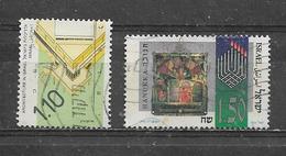 ISRAEL  Yvert  N° 1118 Et 1260  Oblitérés - Israel