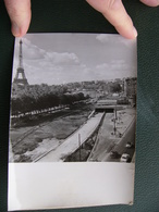 Photo Presse 1956 Construction Du Souterrain Du Pont De L'Alma Paris Là Où Est Décédée Lady Di - Lieux
