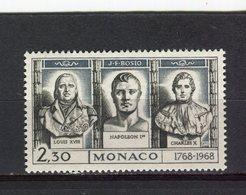 MONACO - Y&T N° 768** - MNH - Louis XVIII, Napoléon 1er, Charles X - Ungebraucht