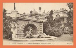 A723 / 109  MONTE CARLO Nouvelle Fontaine Des Jardins Du Casino - Monte-Carlo