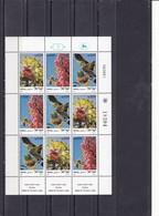 Israel**- 1981, Yvert 813-815 - Mi 868-870 Flore Flowers Arbres De La Terre. MINIFEUILLE. MNH ** - Hojas Y Bloques