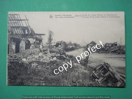 BE663 Houthulst Diksmuide Ruines Entree Du Village 1914 - 1918 - Diksmuide