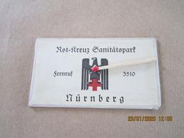 Glace Miroir Allemand Seconde Guerre Croix Rouge Nuremberg - Equipment