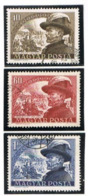 UNGHERIA (HUNGARY)  -  SG  1154.1156 -  1950 GENERAL J. BEM CENTENARY (COMPLET SET OF 3)   - USED° -  RIF.CP - Usati