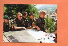 KOSOVO. PATROUILLE DE SOLDATS ALLEMANDS. TROUPES SFOR. Achat Immédiat - Kosovo