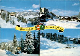 Skiparadies Turrach 1763 M - 4 Bilder * 29. 12. 1976 - Österreich