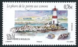 ST-PIERRE ET MIQUELON 2015 - Yv. 1140 **  - Phare De La Pointe Aux Canons  ..Réf.SPM11699 - St.Pierre & Miquelon