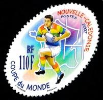 NOUV.-CALEDONIE 2007 - Yv. 1018 **   Faciale= 0,92 EUR - Coupe Du Monde De Rugby En France  ..Réf.NCE25617 - Nueva Caledonia