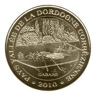 Monnaie De Paris , 2010 , Aubazine , Pays Vallée De La Dordogne Corrézienne , La Gabare - Monnaie De Paris