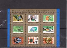 Israel 1988 40th Anniv. Exhibition  Y.T. BF 39 Mi 38  MNH ** - Hojas Y Bloques
