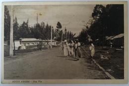 V 60522 Africa Orientale - Etiopia - Addis Abeba - Una Via - Etiopia