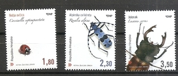 Croatia 2005 / Fauna, Insects / Ladybird, Long-horned Beetle, Stag Beetle,mnh - Croatia