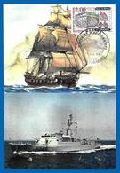 BREST NAVAL - Marine D'hier Et D'aujourd'hui - 27 Janvier 1989 (4647) - Storia Postale