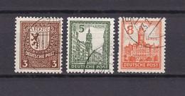 West-Sachsen - 1946 - Michel Nr. 150 Y + 152 Y + 154 Y - Gest. - 23 Euro - Sowjetische Zone (SBZ)
