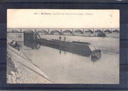 45. Orléans. Le Pont De Vierzon Et Le Canal. L'écluse - Orleans