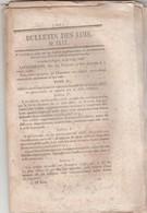 Bulletin Des Lois 1117 De 1844 Budget Crédits Supplémentaires Et Extraordinaires ( Travaux Monuments Etc ) - Décrets & Lois