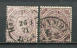 NDP Nr.24 A + B          O  Used      (001) - North German Conf.