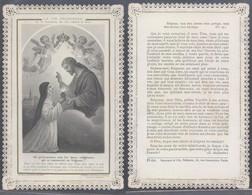 Image Pieuse En Dentelle : (Ch. Letaille, PI 654 / Boumard & Fils (Paris)) - Faire-part