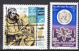EG476 – EGYPTE – EGYPT – AIRMAIL - 1973 – MI # 1139/40 MNH - Luchtpost