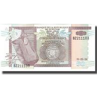 Billet, Burundi, 50 Francs, 1994-05-19, KM:36a, NEUF - Burundi