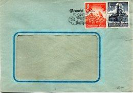 """(L) DR Bedarfsbrief  MiF Mi 752,755 MWSt 18.4.1941 SCHWEINFURT """"Benutzt Die Luftpost"""" - Deutschland"""