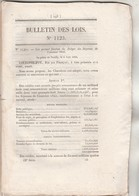 Bulletin Des Lois 1123 De 1844 C- Budget 1845 - Construction 3 Bateaux à Vapeur Transport Correspondance Calais Douvres - Décrets & Lois