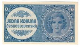 CZECHOSLOVAKIA1KORUN1946P58UNC.CV. - Czechoslovakia