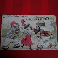 ILLUSTRATEUR MILLE L ANNEE POLITIQUE 1908 LA FRANCE AU MAROC ENTRE LES 2 SULTANS - Mille