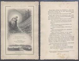 Image Pieuse En Dentelle : (Ch. Letaille, PI 408). Marie Pleurant - Announcements