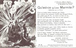 Guerre 1914-18, Cartes Sonnets Illustrees De La Guerre N°10 - Oorlog 1914-18
