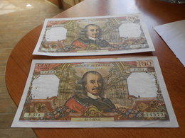 FRANCE     -   100  FRANCS  BILLETS  LOT  - - 1962-1997 ''Francs''