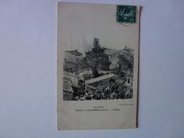 CPA, LE VOCERO,SERRA-DI-SCOPAMENE, L'EGLISE, CAFE DU PROGRES, VOIR SCAN - Other Municipalities