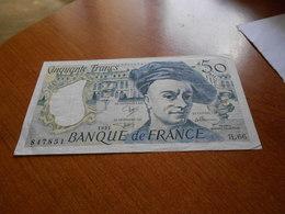 FRANCE     -   50  FRANCS  BILLET - 1962-1997 ''Francs''