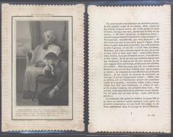 Image Pieuse En Dentelle : (Ch. Letaille, PI 544, Boumard & Fils, Paris) - Faire-part