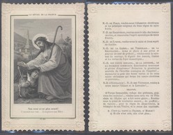 Image Pieuse En Dentelle : (Ch. Letaille, PI 416 / Paris). Le Réveil De La France. - Other